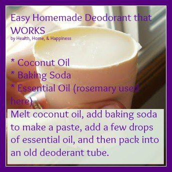 It works! I've been using this for 2 days, its bloody hot outside, and I can't believe it, no smell at all! All those years of spending $$ on stuff that didn't work or was toxic. 3 ingredients. So simple!  Homemade Coconut Oil Deodorant. Genius.