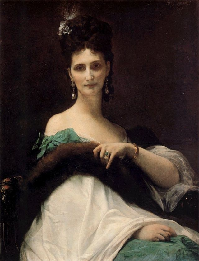 Alexandre Cabanel  Marie-Victoire de Risnich,  la Comtesse de Keller 1873