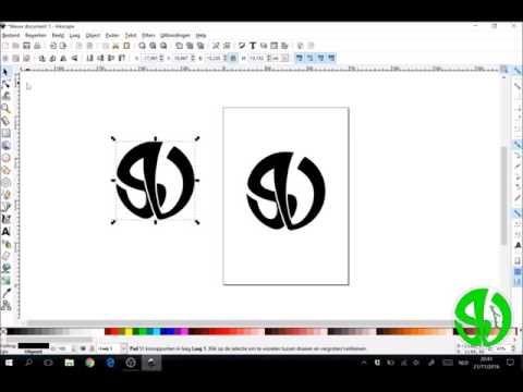 Hoe een Bitmap maken in Inkscape?
