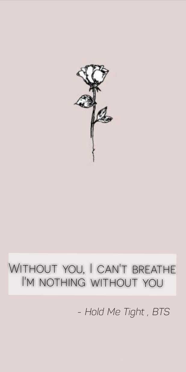 Bts Holdmetight Bts Lyric Hold Me Tight I Can T Breathe