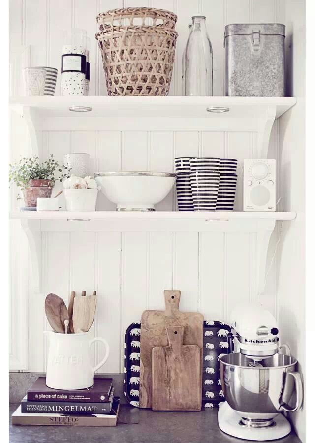 Beautiful bright, white kitchen