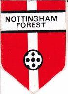 Nottingham Forest sticker from 1970.