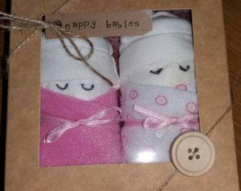Baby cadeau-luier cake-luier baby's-luier baby cadeau set-baby douche-broer/zus cadeau-nieuwe baby-baby meisje-baby jongen-doop - nieuwe moeder aanwezig