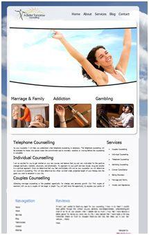 Counselling Website Design  www.abettertomorrowcounselling.com - live! #webDesign
