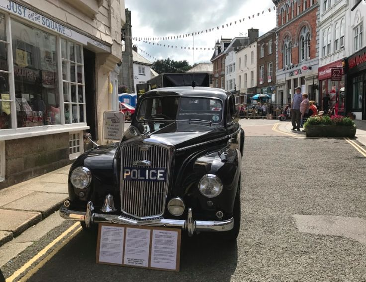 Cars For 8 Year Old >> What year would this lovely old Police Car have been used? Great looking car! | The Black Farmer ...