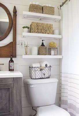 Lar Doce Ana: Como aumentar espaço em banheiros pequenos