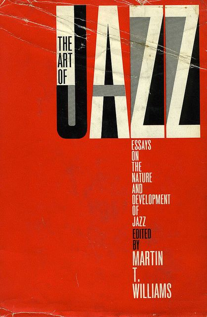 Striking cover of a hard-to-find book by one of the great jazz thinkers of his time.
