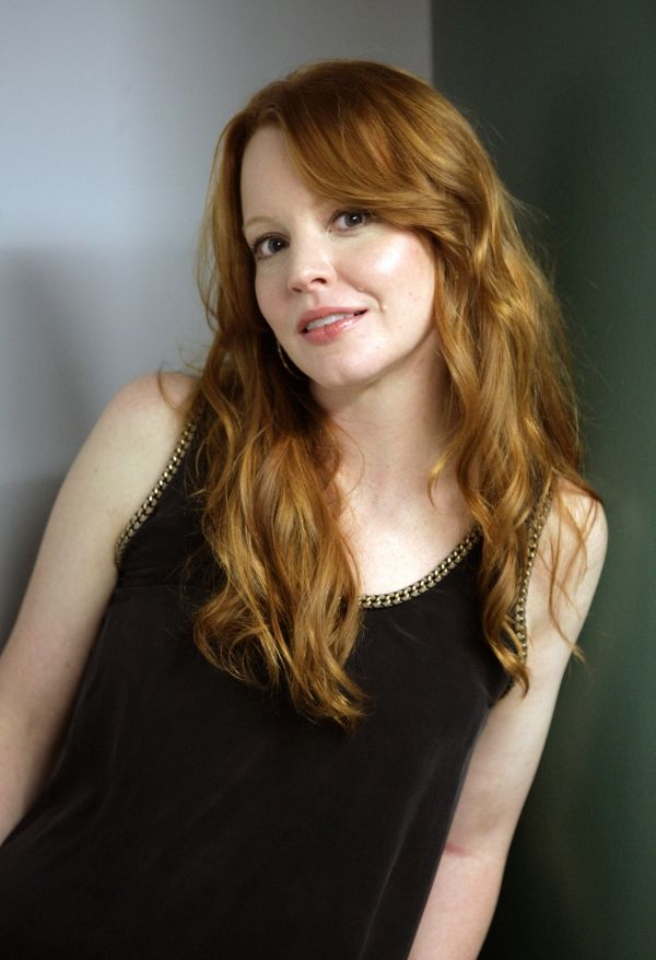 Girl lauren natural redhead video