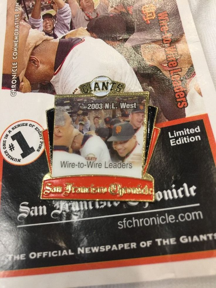 San Francisco Giants 2003 Wire To Wire Leaders #sfgiants #Unbranded #SanFranciscoGiants
