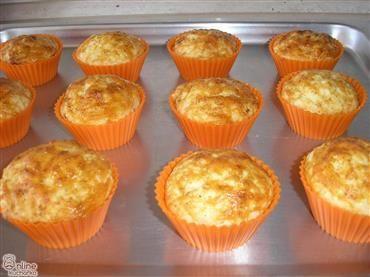 Slané sýrové muffiny