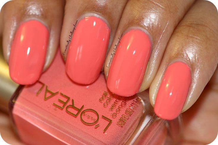 L'oreal Trendsetter Nail Polish in Orange You Jealous