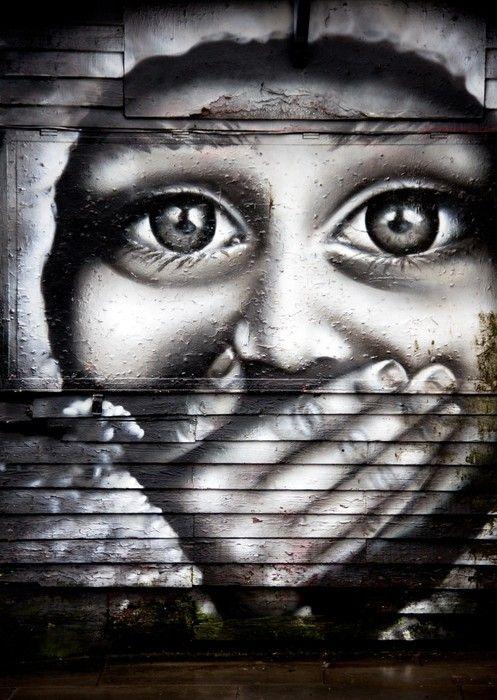 Face Graffiti Painting from $39.99 | www.wallartprints.com.au #GraffitiArt