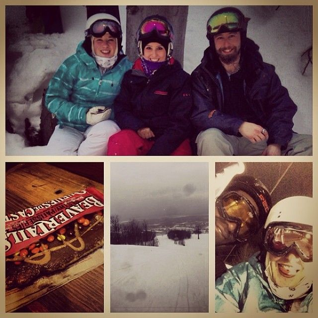 Family snow day at Blue Mountain :) Instagram photo by @emkap5 (Emily)