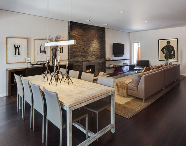 Best 25 Modern Rustic Dining Table Ideas On Pinterest  Brick Glamorous Modern Dining Room Furniture Decorating Design