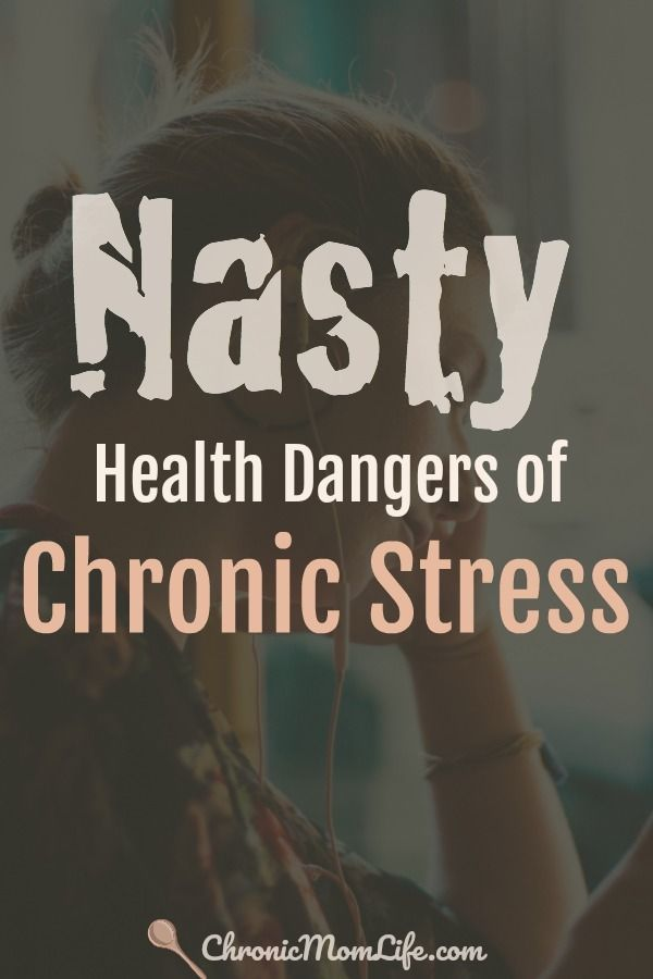 When chronic stress is a daily fact of life is when it becomes dangerous. Here's some nasty health dangers of chronic stress that you should be aware of.