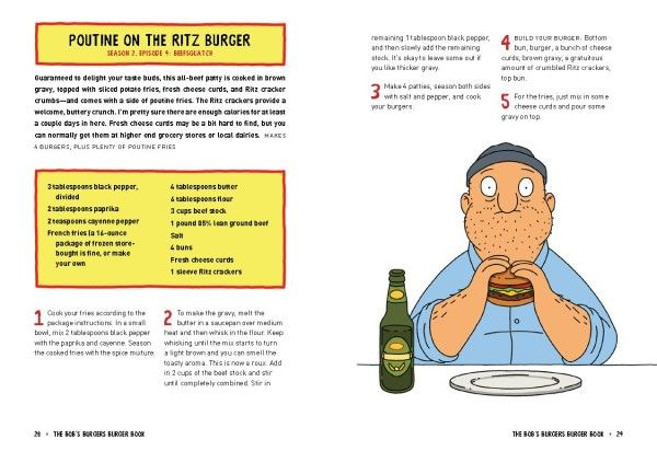 The 'Bob's Burgers' Official Puntastic Cookbook Is Here