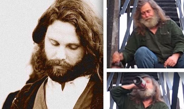 SHOCK CLAIM: Rocker Jim Morrison 'found ALIVE' living as homeless hippy in New York