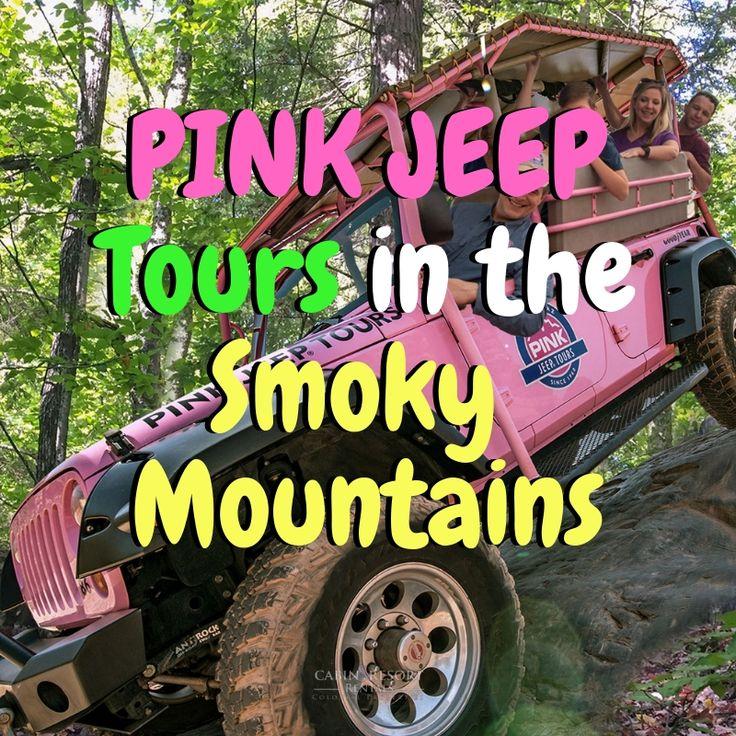 Pink Jeep Tours In The Smoky Mountains Pink Jeep Smokies Smoky Mountains