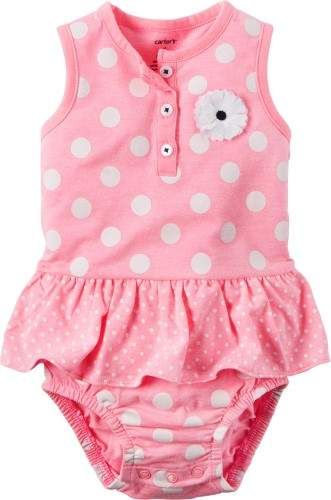 fb9dde919 Carters Baby Girls Polka Dot Sunsuit #babygirl, #carters, #promotion ...