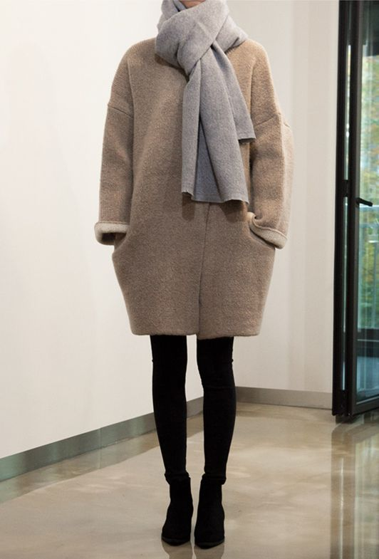 chrome hearts eyewear mahabis style    cocoon coat and neutral layers to combat the cold