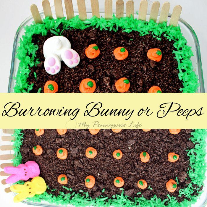 Easy Easter Dirt Cake: An easy, festive, no-bake Easter dessert. (Gluten-free op…   – Spring & Easter Party Ideas