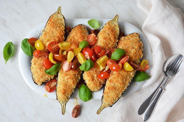 Kublanka vaří doma - Lilek s parmezánovou krustou
