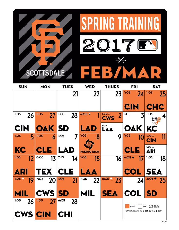 2017 #SFGSpring