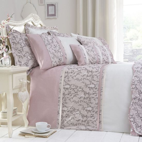 Hot Pink Bedroom Accessories Bedroom Ideas Pinterest Bedroom Decor Ideas Uk Lilac Bedroom Accessories: Dusky Pink Chinoiserie Bedlinen Collection