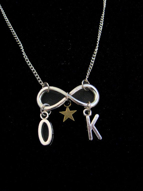 The FAULT In Our STARS Inspired Charm Necklace by ZivaKreations, $17.00