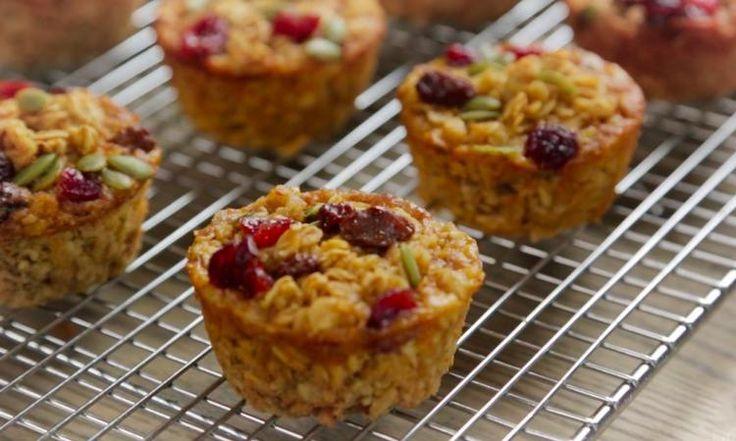 Remplis de fruits et de noix, ces muffins sont aussi bons pour votre bedon que pour vos papilles!