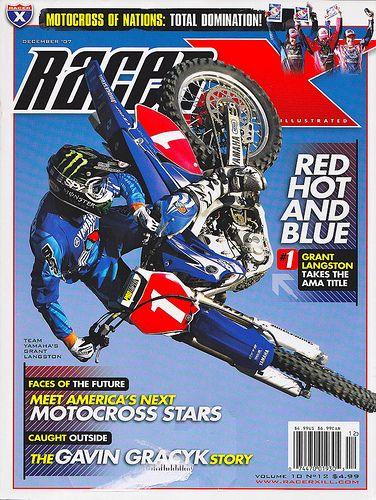 AMA National Motocross Champion Grant Langston wears Fixate