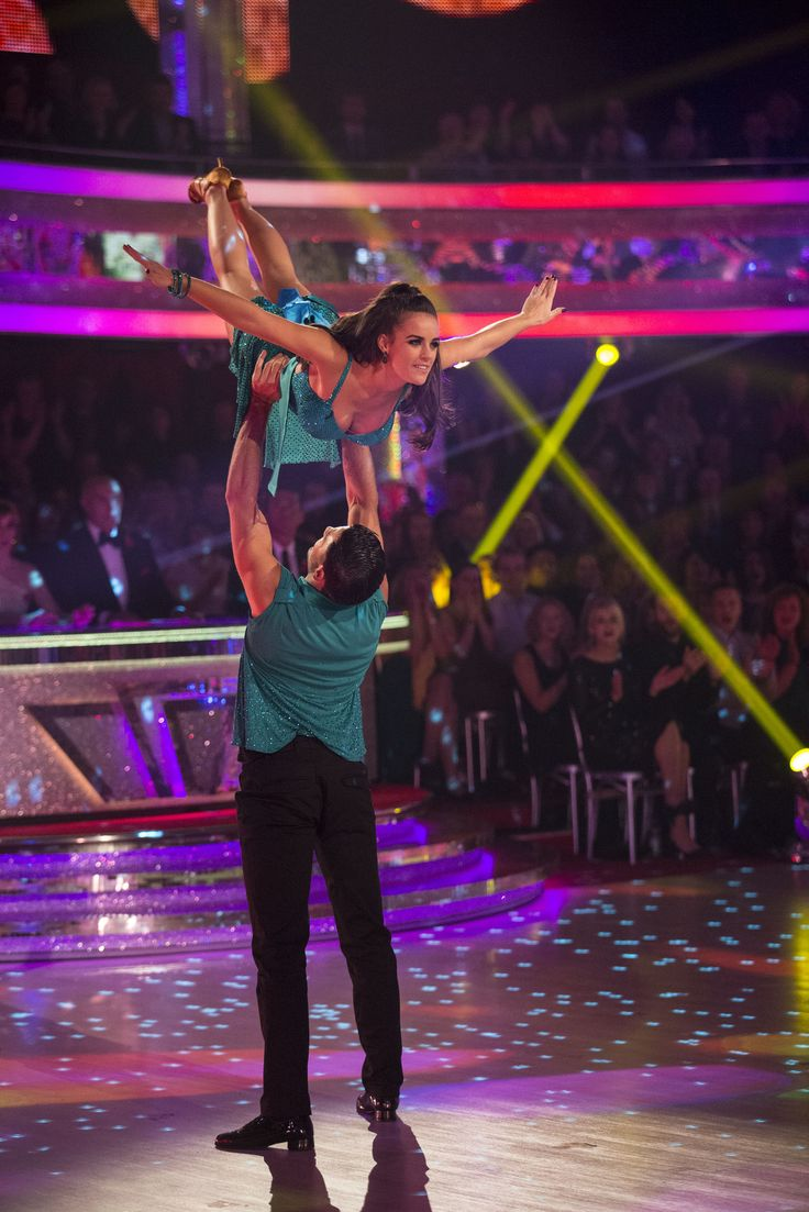 Strictly Come Dancing 2015 -  Week 5 - Georgia and Giovanni