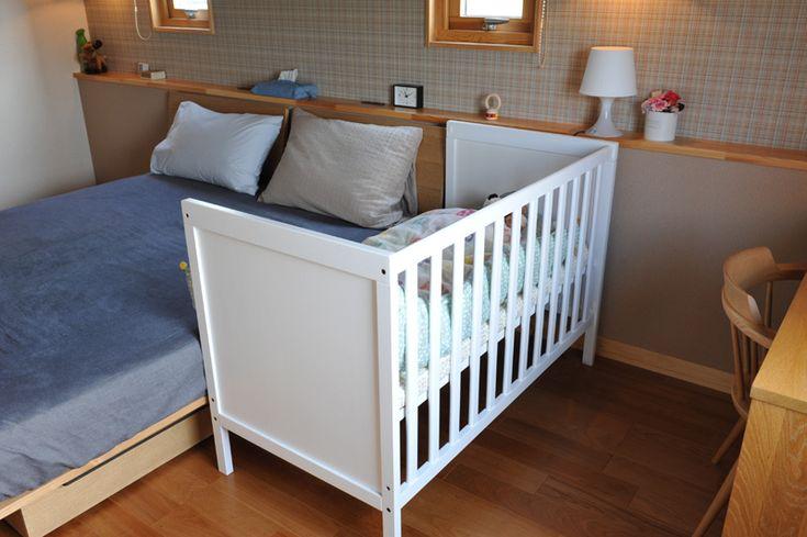 イケア(IKEA)のベビーベッドを購入/添い寝ベッド/SUNDVIK|家は明かりから。~スウェーデンハウスで北欧生活~