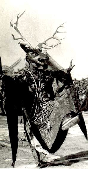 Cham Dancer, Tibet