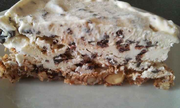 Hjemmelavet is med chokolade på nøddebund | Hvad skal vi bage?