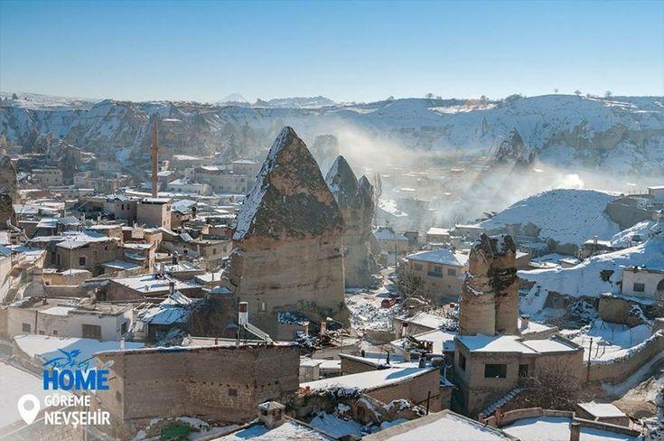 Шукаєте країну чудес для зимового відпочинку? Тоді вам сюди! #Turkey #Homeof #Cappadocia #UNESCO