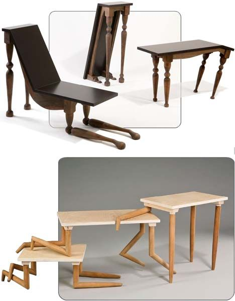 Wild Tables: Real Furniture Animated with Animal Instincts