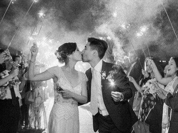 Romantic DIY Napa Valley wedding at Brix Restaurant