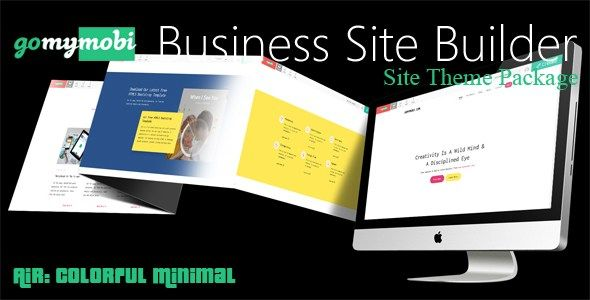 Gomymobibsb S Site Theme Air Colorful Minimal Download Create Business Website Learning Management System Business Website