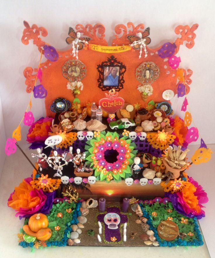 Altar de Muertos Pequeño altar de Muertos  - Day of the dead's mini altar
