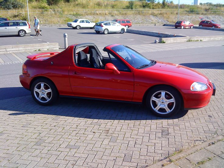 1995 Honda Civic del Sol 2 Dr S Coupe picture, exterior