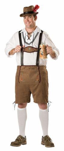 Oktoberfest Guy Adult Plus Costume