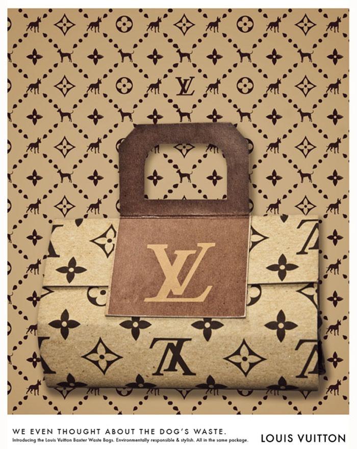 Love Louis Vuitton Pet Waste Bags