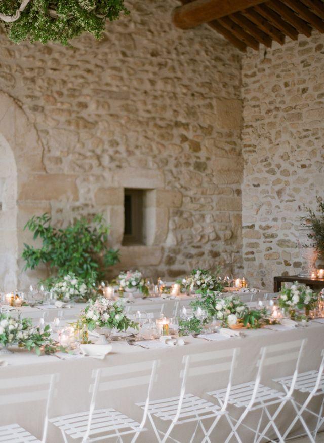 Romantic Provence Wedding Inspiration | Photos by Greg Finck