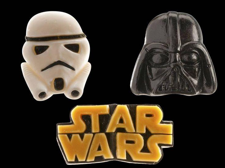 6 figurines star wars g lifi s thema deco anniversaire star wars figurine star wars star. Black Bedroom Furniture Sets. Home Design Ideas