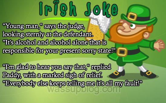 Another funny Irish Joke