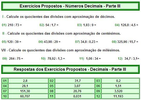 Números Decimais - Parte III - Matemática Muito Fácil - Aritmética