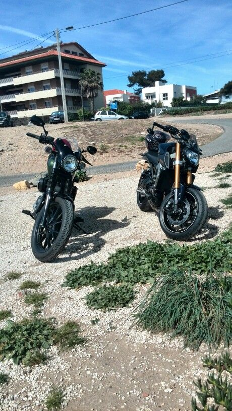 My and my brother morning ride