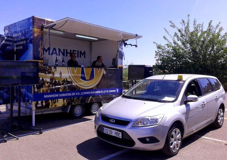 Imagen de uno de los vehículos de ocasión durante la Subasta Móvil LeasePlan de Sevilla del 20 de Mayo de 2015. Organizada por Manheim España