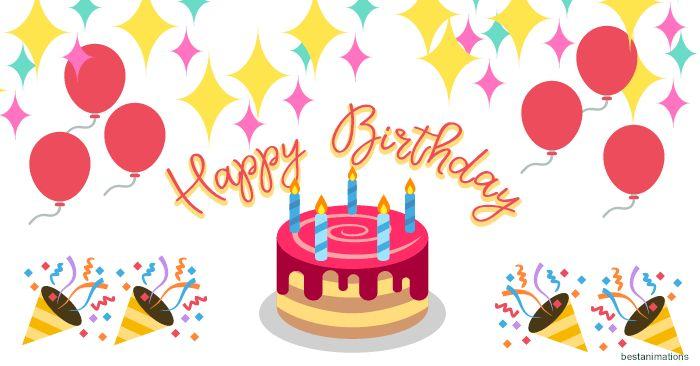 Best Happy Birthday GIFs for WhatsApp